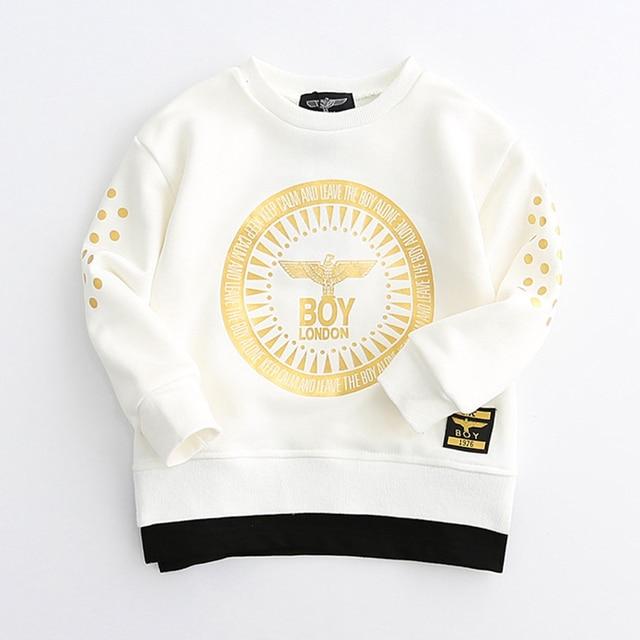 2017 New casual spring Boy shirt Cotton pattern Kids boys clothes long sleeve t shirt