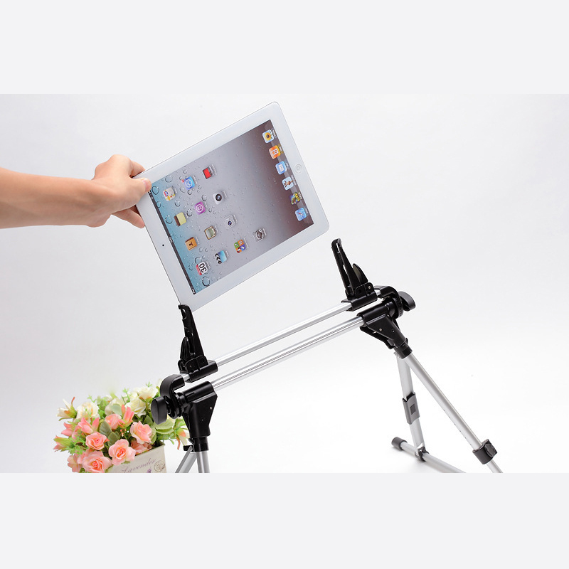 buy adjustable universal floor desk bed stand mount holder for ipad kindle fire galaxy tab notetablet pc lazy bracket assemble from