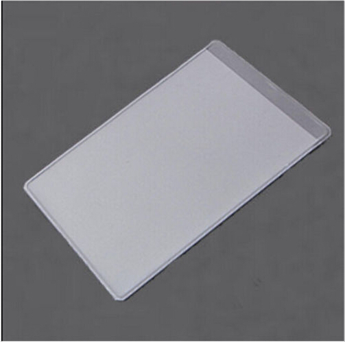 Office & School Supplies Card Holder & Note Holder 10pcs Plastic Credit Card Protectors Dustproof Clear Card Holders Soft Bussiness Card Cover Id Holders 9.6x6cm Pretty And Colorful