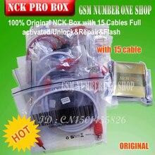Gsmjustoncct 100{6b1d8e5c8174d39804674a2bffc45d31ecc656e09868d3aecb71eff0735dd768} Original NCK PRO BOX mit 15 Kabel Voll aktiviert/Entsperren & Reparatur & Flash kostenloser versand