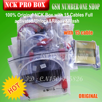 100 Original NCK Box With 15 Cables Full Activated Unlock Repair Flash Free Shipping