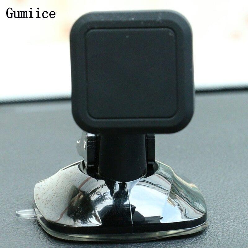 imágenes para Gumiice Negro vehículo de succión Magnética teléfono móvil soporte para coche