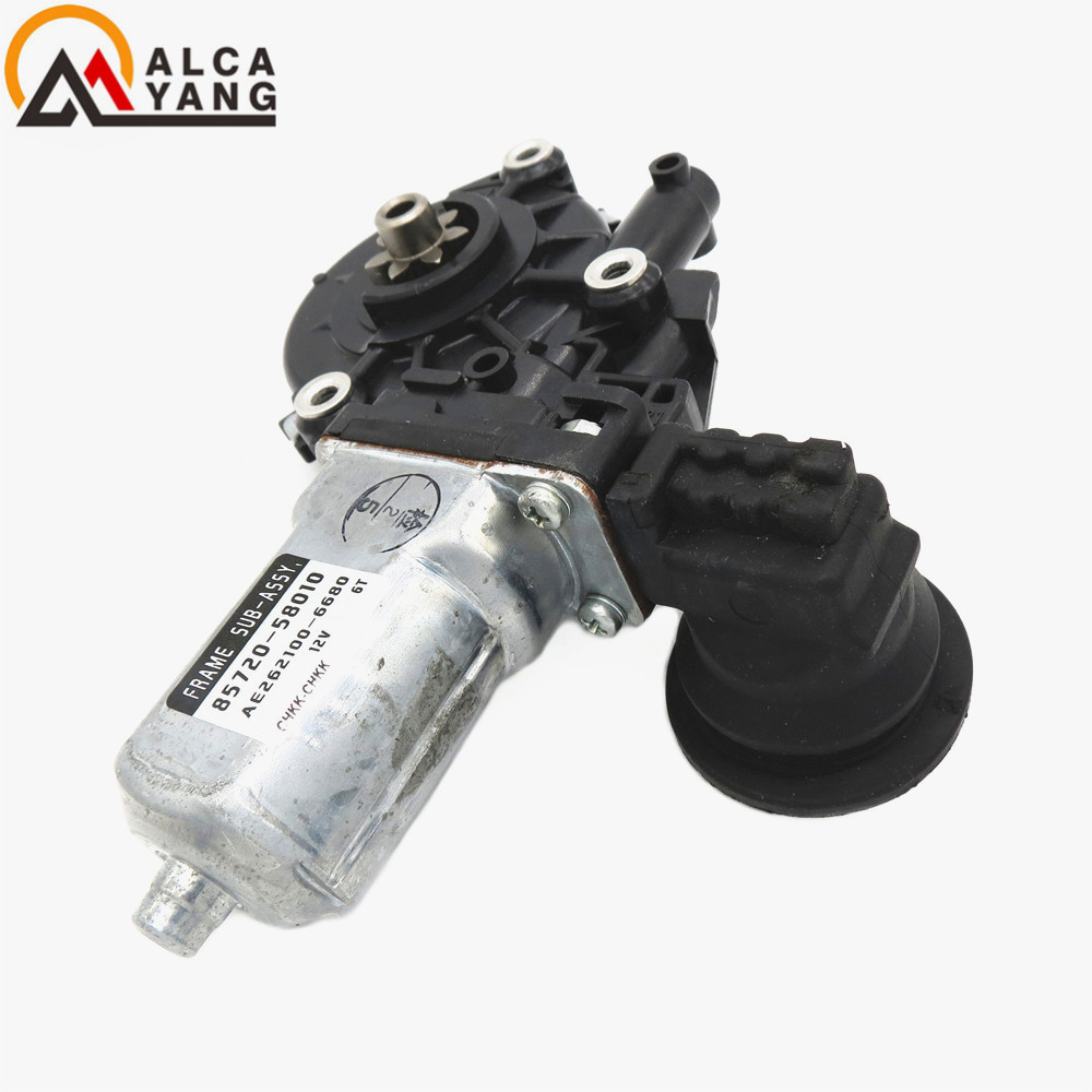 85720-58010 Front Driver Side Electric Window Motor For 2008 Toyota 4Runner Window Regulator Motor window regulator motor for toyota camry window lifter motor 85720 33120