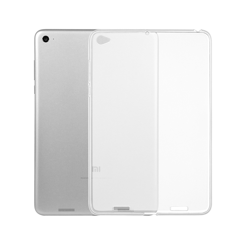 Transparent Soft Silicon Cases For Xiaomi Mi Pad 1 2 4 7.9 8.0 inch Tablet Clear Back Matte Cases Cover Coque Capa цена