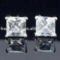 Earings Brinco fashion women wedding jewelry CZ Diamond Zircon stud Earring Sterling Silver 925