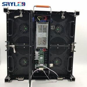 Image 5 - P3.9 P3.91 наружный светодиодный экран, видео настенная панель 500x500 мм цена