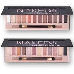Marken Kosmetik Make-Up Glitter Schimmer Matte Lidschatten Palette Make-Up 12 Farben Lidschatten-palette Nudes Matte Frauen geschenk