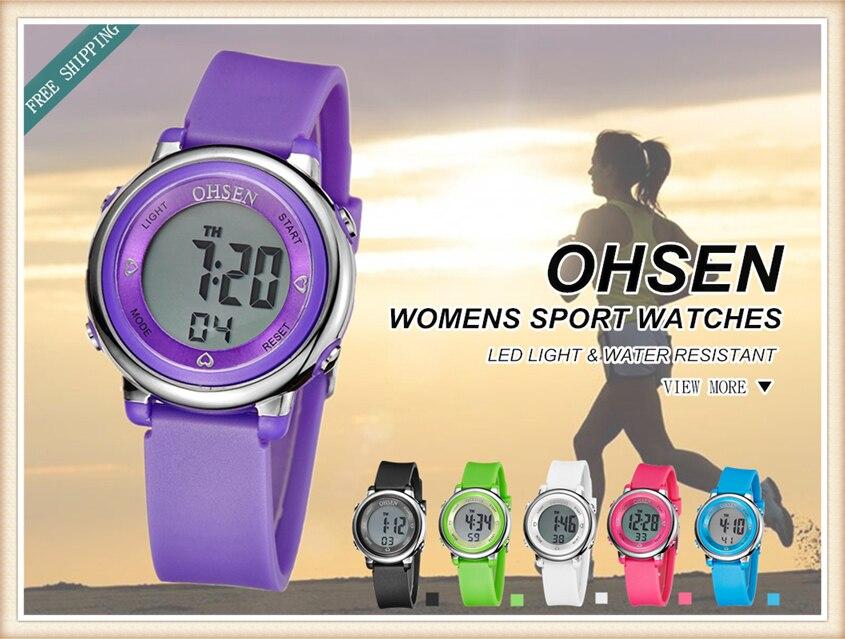 2018 OHSEN Brand Digital LCD Kids Girls Fashion Wristwatch Cute Girl Rubber Strap 50M Waterproof Child Watches Alarm Hand Clocks (27)