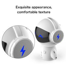 DSstyles Mini Wireless Robot Loudspeaker TF USB Subwoofer Bluetooth Speakers Mp3 Stereo Audio Music Player