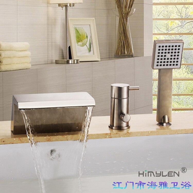 Himylen manufacturer wholesale high-grade wire drawing falls 000795 bathtub faucet tapHimylen manufacturer wholesale high-grade wire drawing falls 000795 bathtub faucet tap