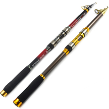 1x Exclusive Carbon fiber Telescopic Sea fishing rod 2.1/2.4/2.7/3.0/3.6 m MOST COST-EFFECTIVE fishing pole tackle Yuelong