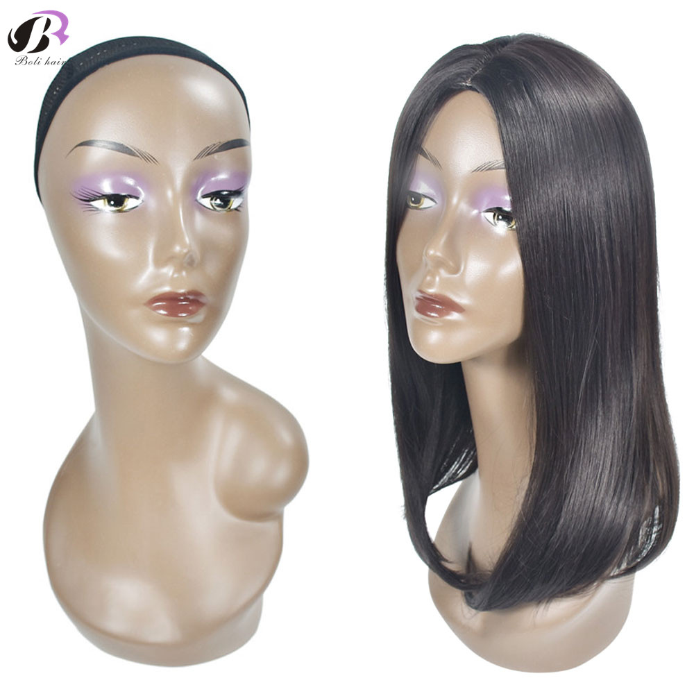 Bolihair 47cm Free Shipping Realistic Female Head Mannequin Black Manikin Head Wig Stand Hat/Wig/Diomand Display with Shoulder Bolihair 47cm Free Shipping Realistic Female Head Mannequin Black Manikin Head Wig Stand Hat/Wig/Diomand Display with Shoulder