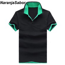 NaranjaSabor Brand Men's Polo Cotton Male Casual Shirts Slim short sleeve shirts Men Top Boys Summer Polo shirts clothing M~3XL