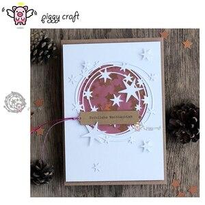 Image 1 - Piggy Ambachtelijke metalen stansmessen cut sterven mold Star ring decoratie plakboek craft mes schimmel blade punch stencils sterft