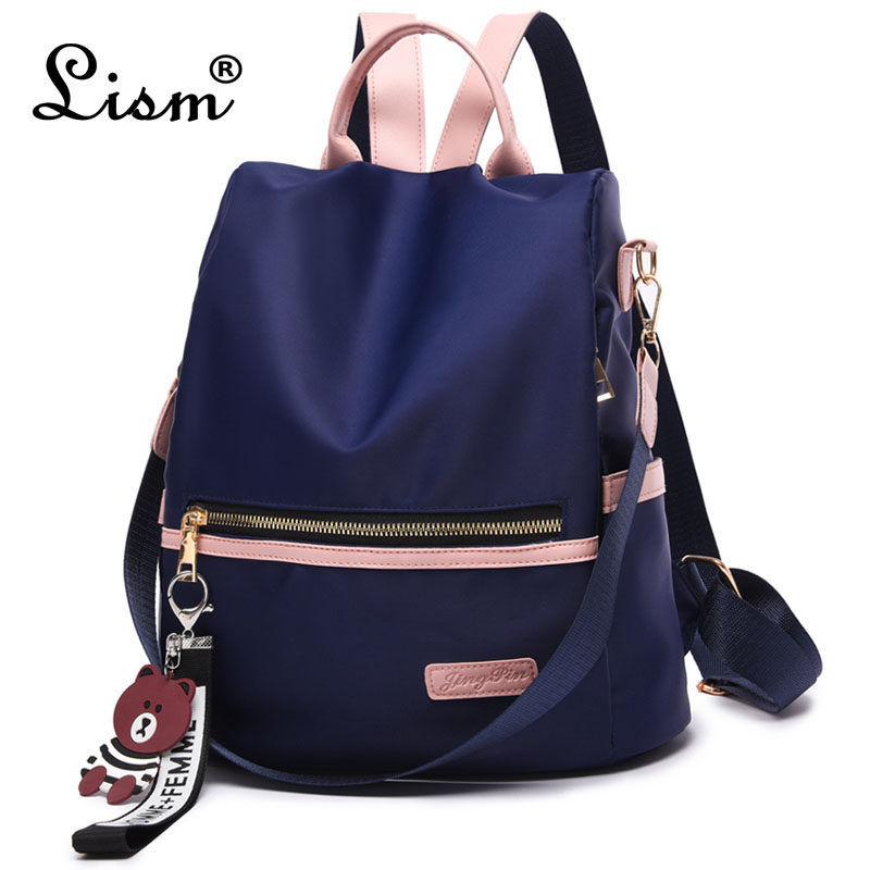 Backpack Women 2019 Fashion Oxford Laptop Backpack Women  Antithief  Bags School Bag For Teenage Girl Mochila Mujer