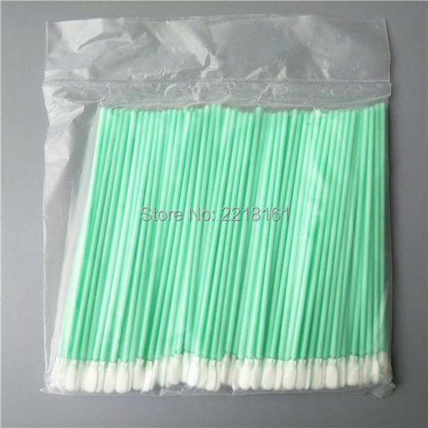 500pcs Antistatic ESD Cleanroom Polyester solvent swabs Alternative to ITW Texwipe TX761 Long Alpha Dacron Swabs