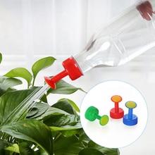 1 шт. пластиковый домашний горшок для полива бутылки сопло для 3 см разбрызгиватель для бутылок сопло растения Полив цветов инструменты 3 цвета