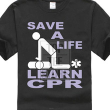 c0ae226f5 Save A Life Learn Cpr Ems Emt Paramedic First Aid Cpr Trainer Men'S T Shirt  (