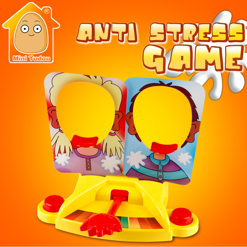 Minitudou Antistress Toy Funny Gadgets Double Version Fun Face Game Kids Board Games Anti Stress Gag Gifts funny fishing game family child interactive fun desktop toy