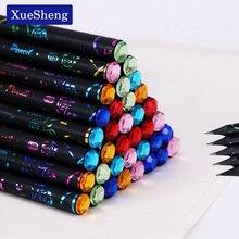6 шт./компл. DIY карандаш HB Алмазный печать Цвет карандаш канцелярские принадлежности для рисования принадлежности милые карандаши школьные канцелярские принадлежности