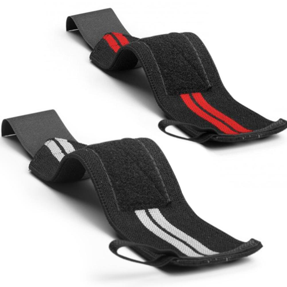 Bereidwillig 2 Stks Sport Fitness Bandage Bandage Bracers Gewichtheffen Basketbal Bracers Kortingen Prijs