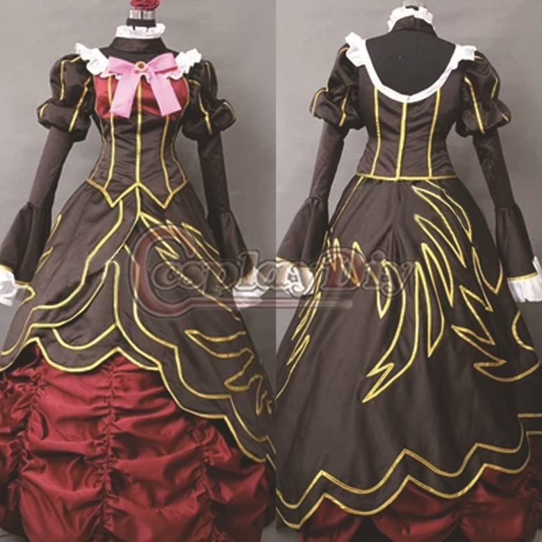 Free Shipping Custom Made Beatrice Cosplay Umineko Anime Cosplay Costume