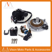 Street Bike Ignition Switch Fuel Gas Cap Seat Lock Key Set For Honda VT250 CB400 1992 1993 1994 1995 1996 1997 1998 CB 1 VFR400