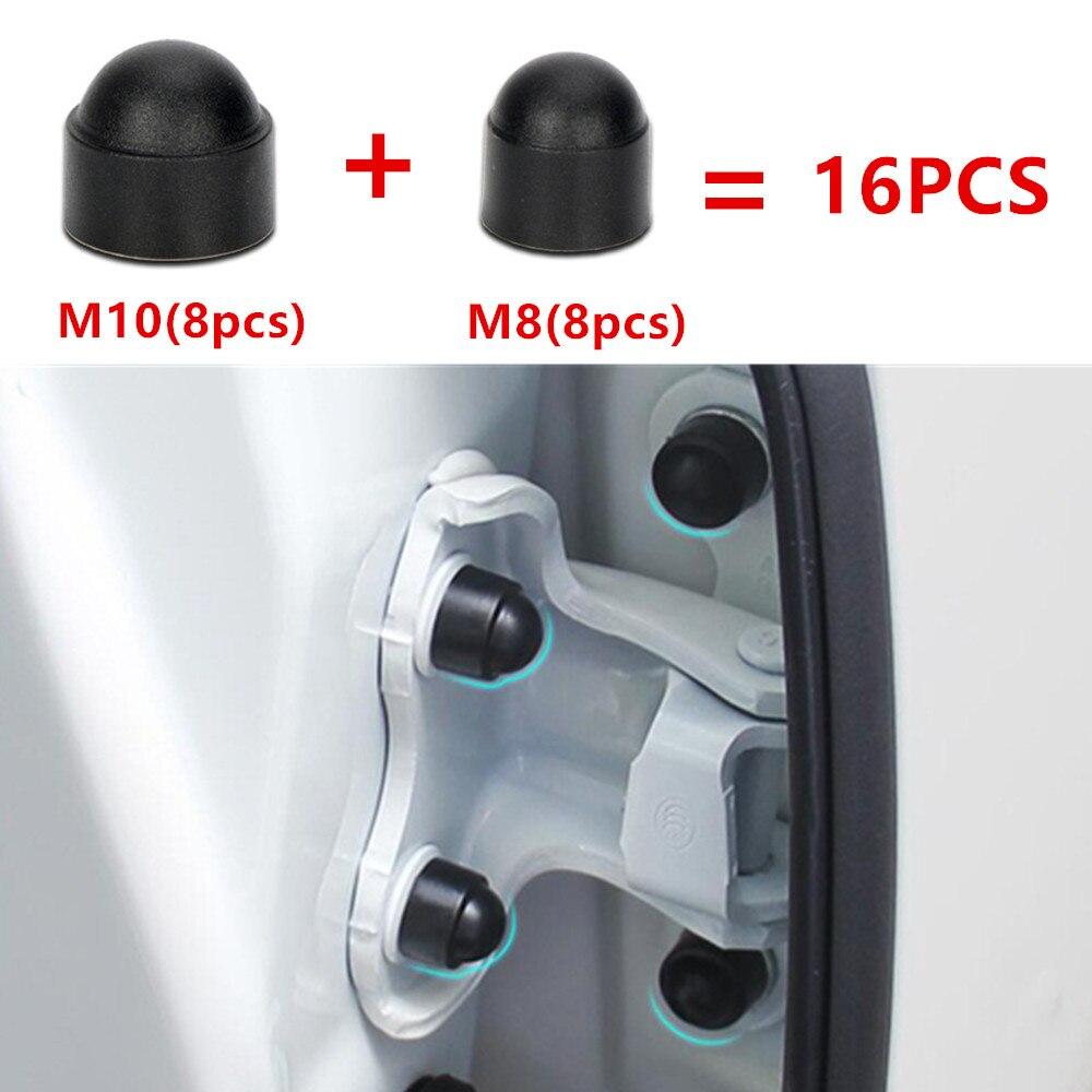 16PCS Car Interior Accessories AUniversal Auto Screw Protection Cap For Hyundai KIA Peugeot Chevrolet Mitsubishi Suzuki Styling