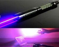 450nm Haute Puissance 80000 mW Bleu Laser Pointeur Lazer Stylo Lumière Mise Au Point Réglable Brûler Match Avec 5 étoiles caps Lumière cigarette