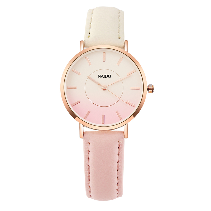 2018 Women's Fashion Rainbow Watch Luxury Ladies Watch Women Watches Leather Quartz Wrist Watch reloj mujer relogio feminino
