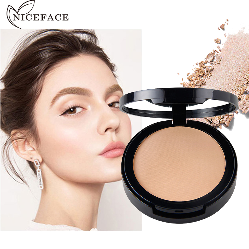 2017 New Dark Skin Contour Powder Brand Cosmetics Long Lasting Oil- control Brighten Face Whitening Pressed Powder Makeup