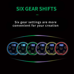 Image 5 - オーロラ 2 タトゥー電源アップグレードデジタル液晶新ミニ led タッチパッド電源タトゥーロータリーマシンペン