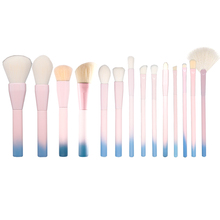 YAVAY First Love 14pcs Professional Multipurose Makeup Brushes Soft Makeup Brush Set Liner Foundation Blush Powder Brush Kit