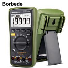 все цены на Borbede BD-99 Digital Multimeter 20000 Counts Auto Range DC AC Resistance Capacitance Peak Hold Tester- 1 Year Warranty онлайн