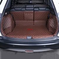 Automobile trunk cushion Special trunk mats Fit For Honda HRV HR V VEZEL 2014 2017 waterproof boot carpets