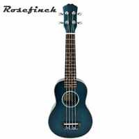 21 inch best selling Spruce Ukulele Gradient Blue Ukulele Plucked Musical Instrument Four string Guitar Creative Gift UK2141