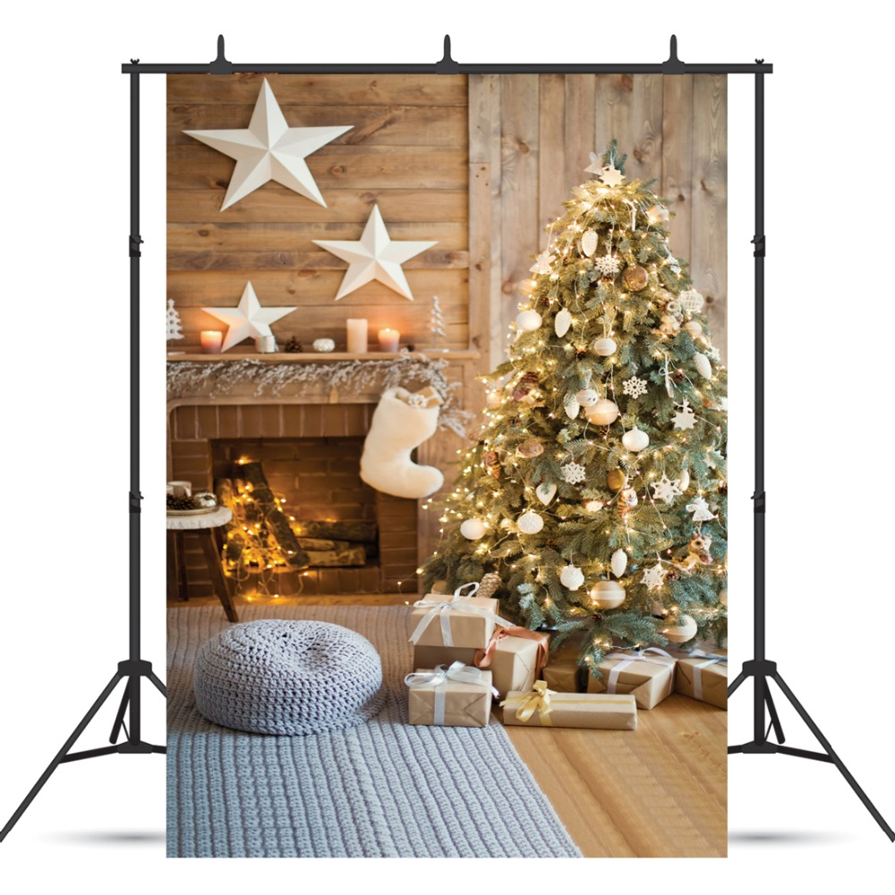 SJOLOON Christmas photography background baby photography backdrop Christmas tree photograph background fond studio vinyl props 215cm 150cm fundo mottled walls of the ground3d baby photography backdrop background lk 2007