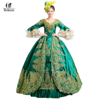 2016 European Court Dress 18th Century Queen Victorian Dresses Ball Gowns For Ladies Halloween Cosplay Costume