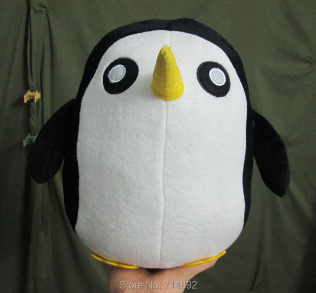"30 Pcs Anime Adventure Time The Ice King Pet Penguin 12"" Plush Toys free shipping by EMS"