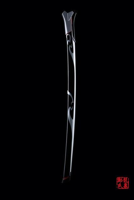 For Over Watch Cosplay Props Replica Genji Oni Skin Blade Real Steel Fantasy Katana Brand New Supply Decorative Sword No Sharp 3