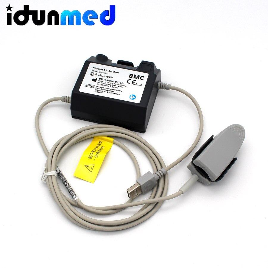 Contec CMS RS01 сна Apena метр респираторный монитор SpO2 Частота пульса, трубка для носа - 3