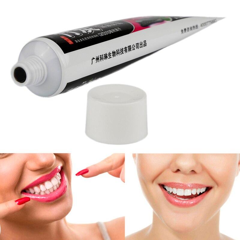 Die Schwarz Bambus Zahnpasta Zahnpflege Zahnpasta Holzkohle Alle-zweck Zähne Bleaching 110g TSLM1