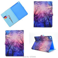 Luxury Magnetic Color Painted PU Leather For Apple IPad Air 2 Stand Case For IPAD Air2