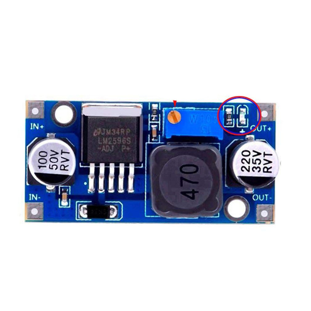 Lm2596S Dc-Dc Step-Down Power Module Buck 3A Adjustable Buck Module Regulator Super Lm2576