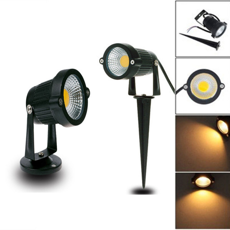 Lights & Lighting 20x Outdoor Lawn Light Ip65 Cob Floor Light 3w/5w Ac220v Garden Waterproof Spot Light Sitting Outdoor Lighting Be Shrewd In Money Matters