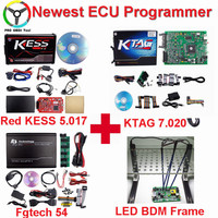 Newest Kess Ktag V7 020 Master V2 23 ECU Chip Tuning Tool No Token Limited Online