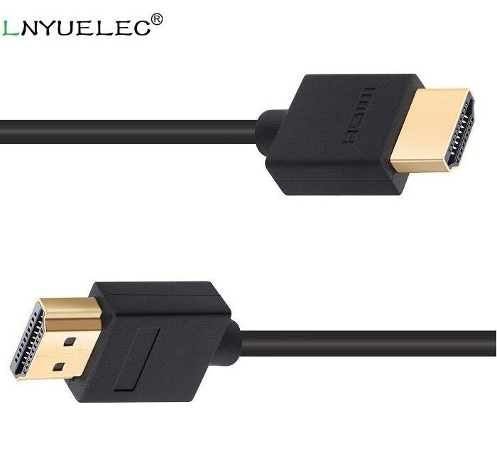 En gros 200 pcs/lot Mâle-mâle Hdmi Cable2.0 pour la TVHD XBOX PS3 4 k * 2 K Hd Android Tv Hdmi Cabo 2 m Vidéo Cavo