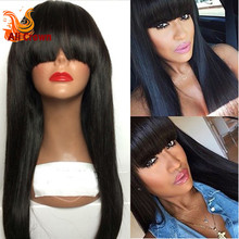 Lace Front Full Lace Wigs Brazilian Virgin Hair U Part Human Hair Wigs Silky Straight Full Lace Human Hair Wigs For Black Women