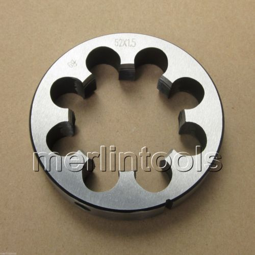 52mm x 1.5 Metric Right hand Thread Die M52 x 1.5mm Pitch m48 x 1 5 metric right hand thread die