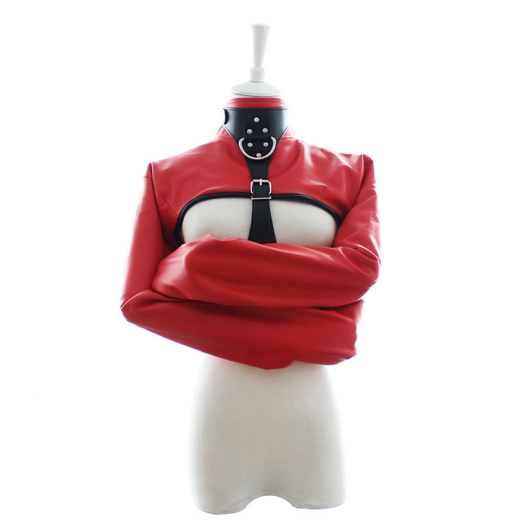 Adult products flirting leather fetish wear bdsm bondage female apparatus bondage restraints Body Harness sex games sex toys thierry adult sex games pu leather sexy leg harness body bondage arm sleeve bondage flirting tame sex slave sex toys for woman